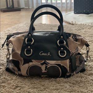 COACH multi tone purse